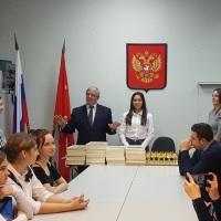 Лучшие учащиеся школ муниципального округа « Пороховые» Красногвардейского района
